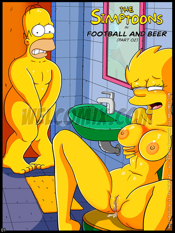 The Simptoons - Football and Beer (Part 02) - page 1