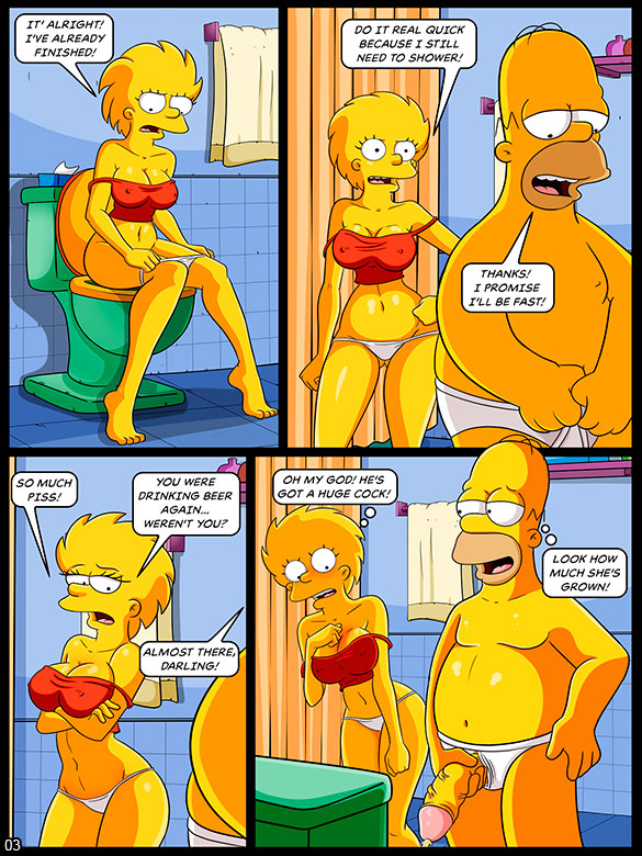 The Simptoons - Football and Beer (Part 02) - page 3