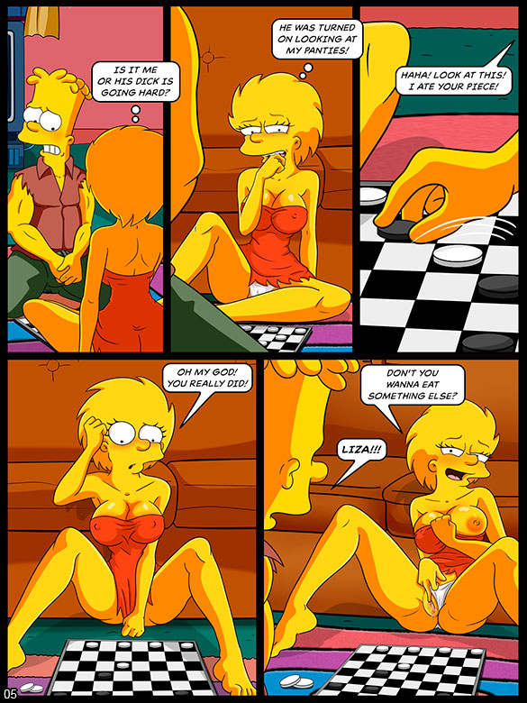 The Simptoons - Playing Checkers - page 5